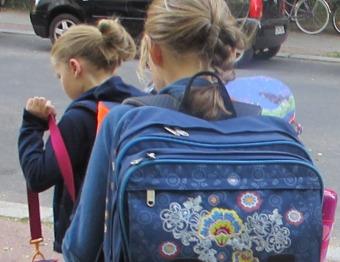 german school children
