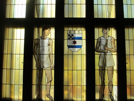 stained glass rowers BRC