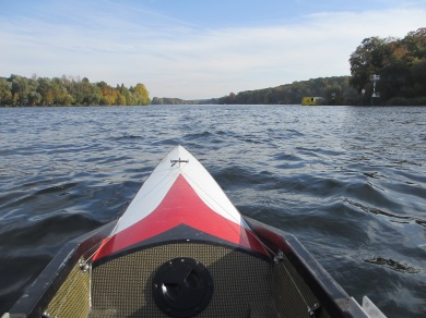 Quael dich, quad rowing boat