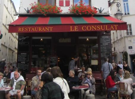 Paris cafe Montmartre
