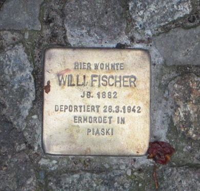 stolperstein stumbling block