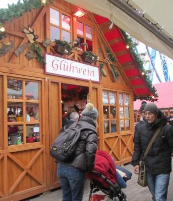 gluhwein stand