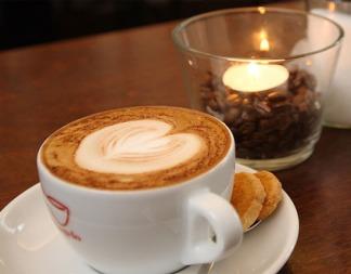 kaffee zum hier trinken
