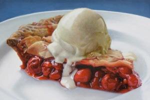 Big+Cherry+Pie+A+La+Mode+by+Mary+Ellen+Johnson